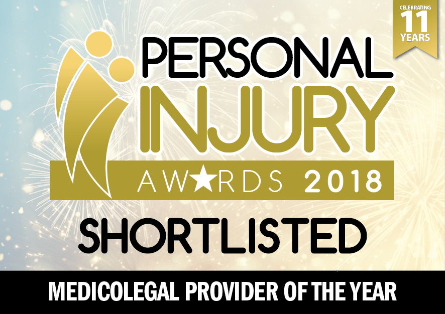 PIA 2018 SHORTLISTED MEDICOLEGAL PROVIDER